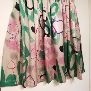 Brooklyn Industries Dresses - Brooklyn Industries Patterned Silk Dress